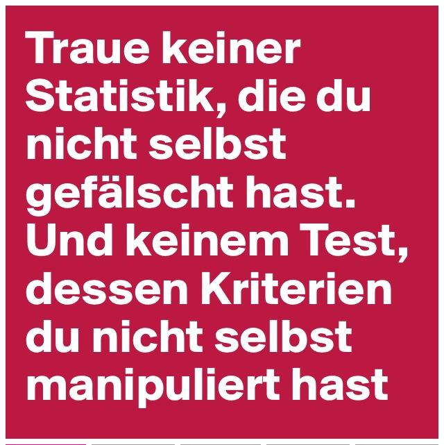 Statistik & Test