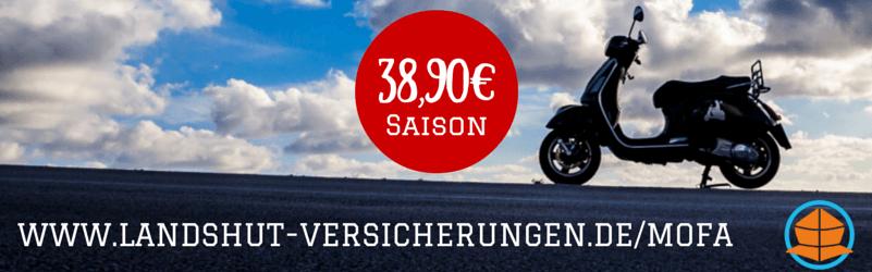 Die günstigsten Mopedkennzeichen 2015