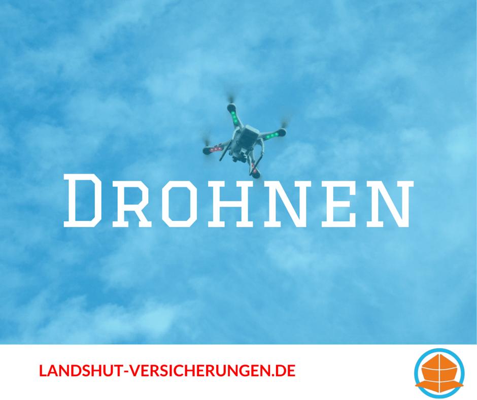Versicherung für Drohnen, Multicopter und Quadrocopter